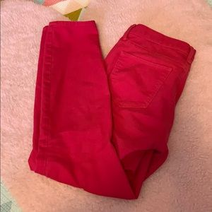 🛍3 for 20 🛍 Gap bright pink skinny jeans
